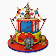 Jungle party cake (4 kg)